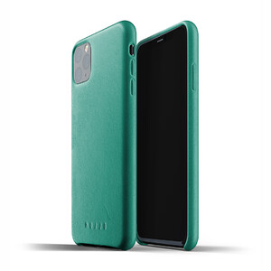 Купить Кожаный чехол MUJJO Full Leather Case Alpine Green для iPhone 11 Pro
