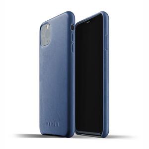 Купить Кожаный чехол MUJJO Full Leather Case Monaco Blue для iPhone 11 Pro Max