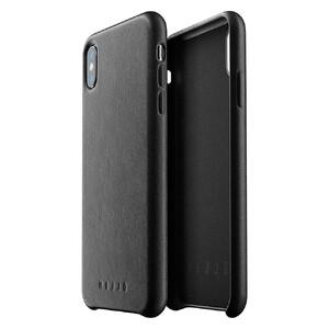 Купить Кожаный чехол MUJJO Full Leather Case Black для iPhone XS Max