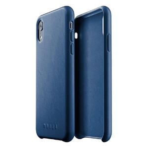 Купить Кожаный чехол MUJJO Full Leather Case Monaco Blue для iPhone XR