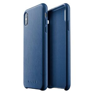 Купить Кожаный чехол MUJJO Full Leather Case Monaco Blue для iPhone XS Max