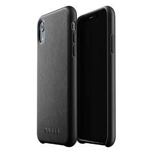Купить Кожаный чехол MUJJO Full Leather Case Black для iPhone XR