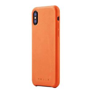 Купить Кожаный чехол MUJJO Full Leather Case Tan для iPhone X