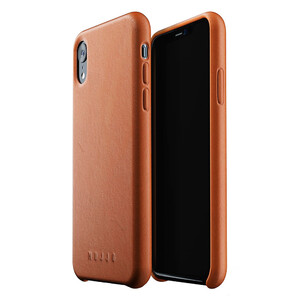 Купить Кожаный чехол MUJJO Full Leather Case Tan для iPhone XR