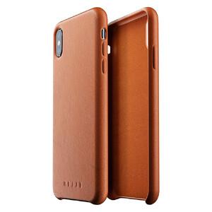 Купить Кожаный чехол MUJJO Full Leather Case Tan для iPhone XS Max