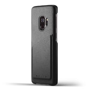 Купить Кожаный чехол MUJJO Full Leather Wallet Case Black для Samsung Galaxy S9