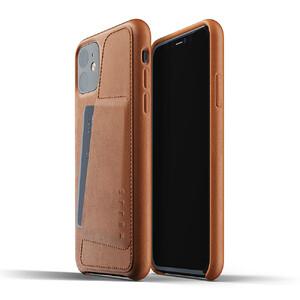 Купить Кожаный чехол MUJJO Full Leather Wallet Case Tan для iPhone 11