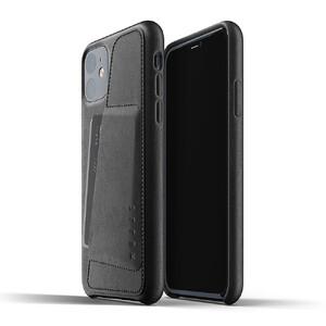 Купить Кожаный чехол MUJJO Full Leather Wallet Case Black для iPhone 11