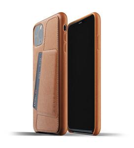 Купить Кожаный чехол MUJJO Full Leather Wallet Case Tan для iPhone 11 Pro Max
