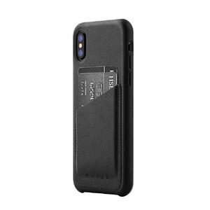 Купить Кожаный чехол MUJJO Leather Wallet Case Black для iPhone X/XS