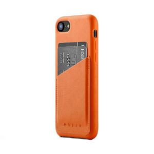 Купить Кожаный чехол с отделением для карт MUJJO Leather Wallet Case Tan для iPhone 8/7