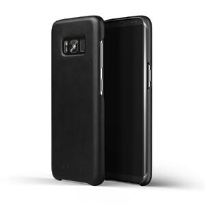 Купить Кожаный чехол MUJJO Leather Case Black для Samsung Galaxy S8