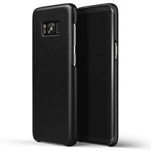 Купить Кожаный чехол MUJJO Leather Case Black для Samsung Galaxy S8 Plus