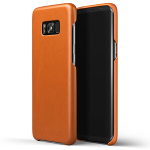 Купить Кожаный чехол MUJJO Leather Case Saddle Tan для Samsung Galaxy S8 Plus
