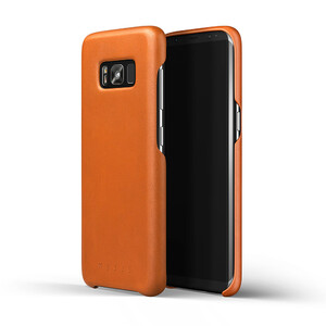 Купить Кожаный чехол MUJJO Leather Case Saddle Tan для Samsung Galaxy S8