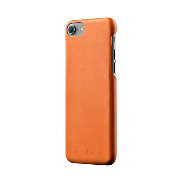 Кожаный чехол MUJJO Leather Case Tan для iPhone 7 | 8 | SE 2020