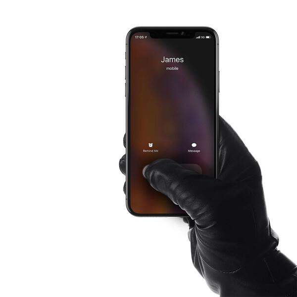 Сенсорные кожаные перчатки Mujjo Leather Touchscreen Gloves Medium (8.0)