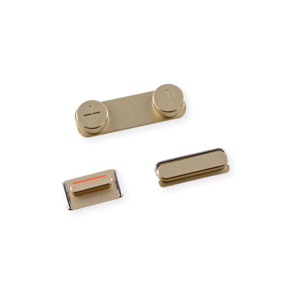 Купить Набор кнопок (Gold) для iPhone 5S