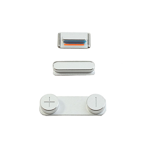 Купить Набор кнопок (Silver) для iPhone 5S