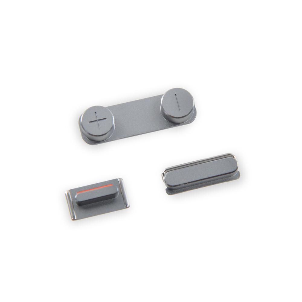 Купить Набор кнопок (Space Gray) для iPhone 5S