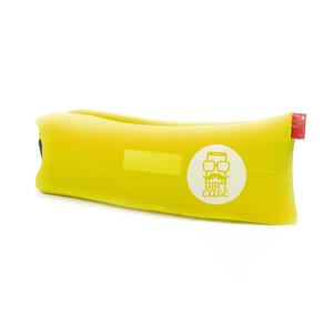Купить Надувной шезлонг (ламзак) BartCase Желтый (без кармана)