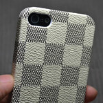 Кожаная накладка Louis Vuitton для iPhone 5/5S/SE