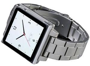 Металлический браслет-часы (ремешок) LunaTik для iPod nano 6G