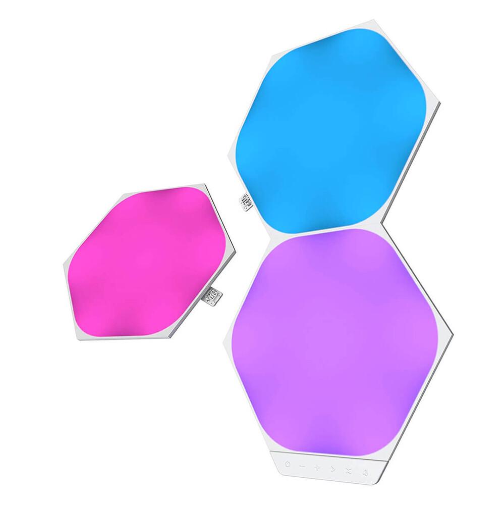 Купить Дополнительные светодиодные модули Nanoleaf Hexagon Shape Expansion Pack HomeKit (3 модуля)