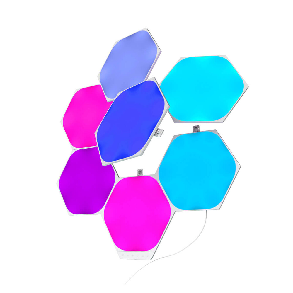 Купить Умная система освещения Nanoleaf Shapes Hexagons Smarter Kit 7 Panels HomeKit