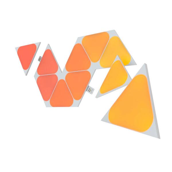 Дополнительные светодиодные модули Nanoleaf Shapes Mini Triangles Expansion Pack HomeKit (10 модулей)