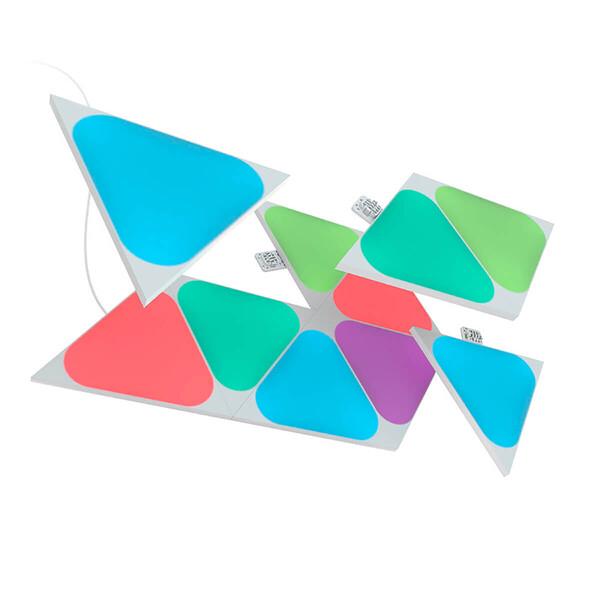 Умная система освещения Nanoleaf Shapes Mini Triangles Starter Kit Apple HomeKit (5 модулей)