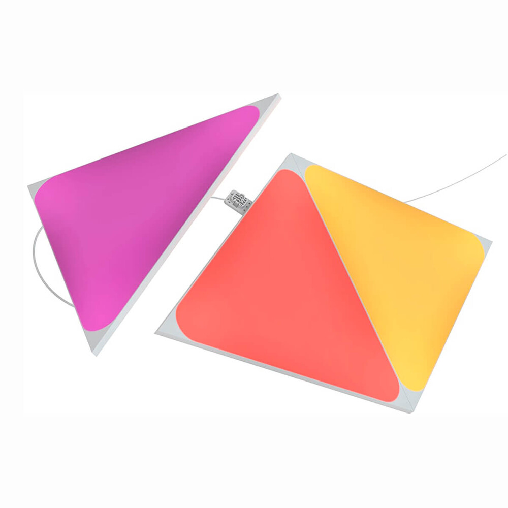 Купить Дополнительные светодиодные модули Nanoleaf Shapes Triangles Expansion Pack HomeKit (3 модуля)