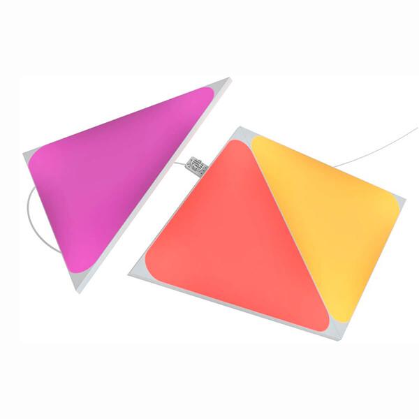 Дополнительные светодиодные модули Nanoleaf Shapes Triangles Expansion Pack HomeKit (3 модуля)