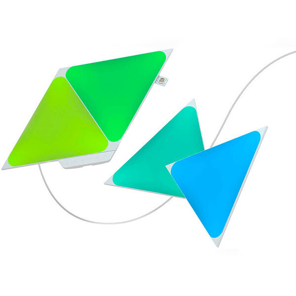 Умная система освещения Nanoleaf Shapes Triangles Starter Kit Apple HomeKit (4 модуля)