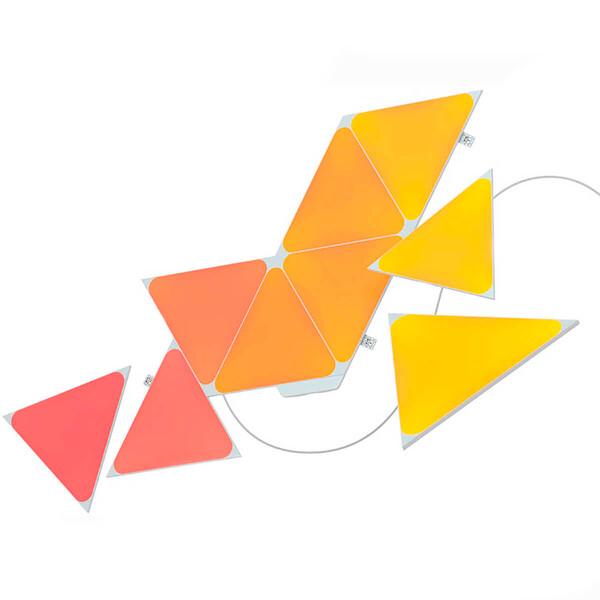 Умная система освещения Nanoleaf Shapes Triangles Starter Kit Apple HomeKit (9 модулей)