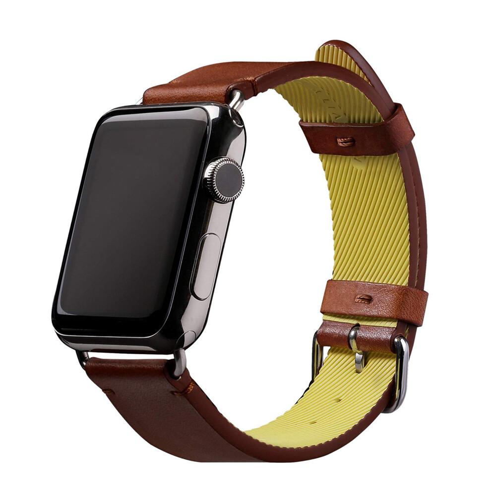 Купить Кожаный ремешок Native Union Active Strap Brown для Apple Watch 44mm | 42mm SE | 6 | 5 | 4 | 3 | 2 | 1