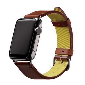 Купить Кожаный ремешок Native Union Active Strap Brown для Apple Watch 44mm | 42mm SE | 6 | 5 | 4 | 3 | 2 | 1