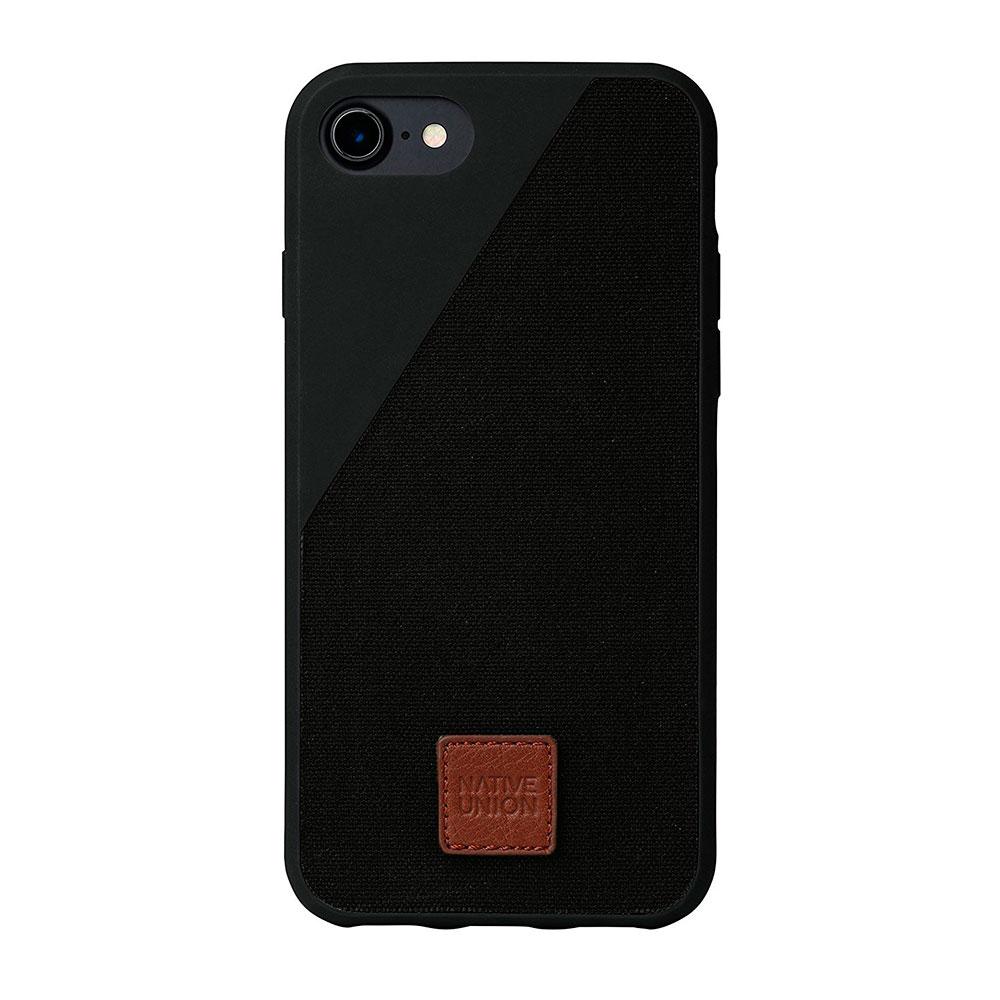 Купить Тканевый чехол Native Union CLIC 360° Black для iPhone 7 | 8 | SE 2020