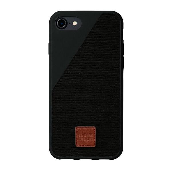 Тканевый чехол Native Union CLIC 360° Black для iPhone 7 | 8 | SE 2020