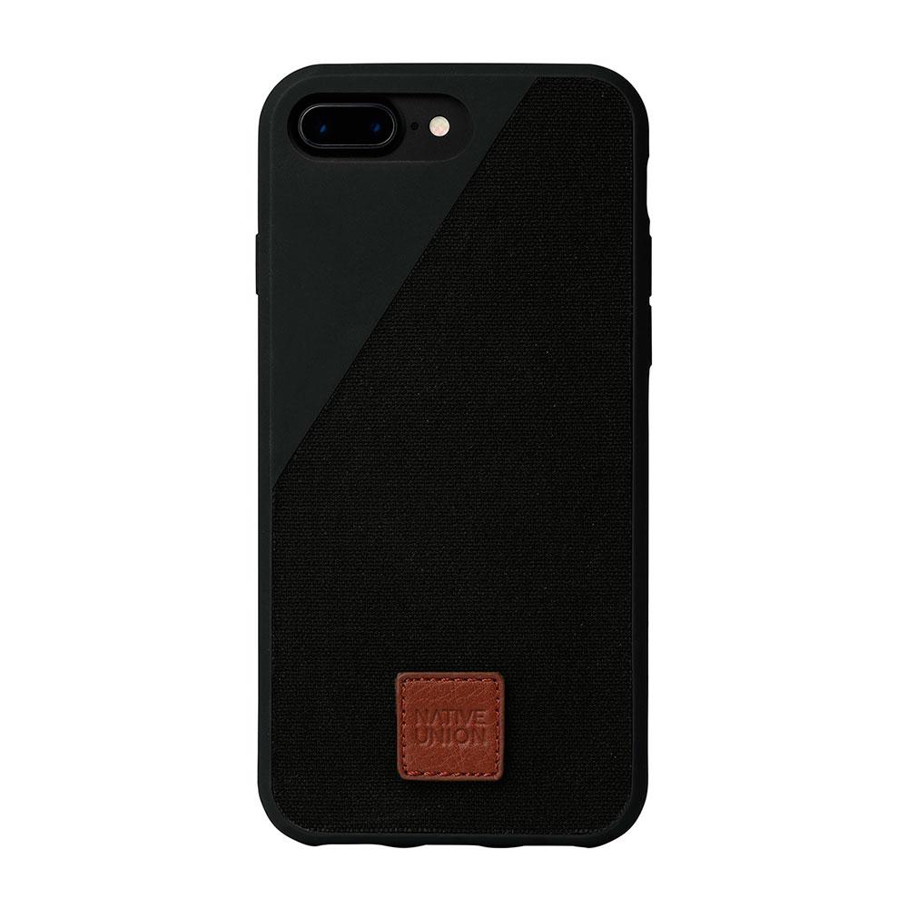 Купить Тканевый чехол Native Union CLIC 360° Black для iPhone 7 Plus | 8 Plus