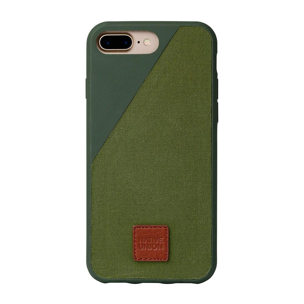 Купить Тканевый чехол Native Union CLIC 360° Olive для iPhone 7 Plus | 8 Plus