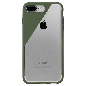 Купить Чехол Native Union CLIC Crystal Olive для iPhone 7 Plus/8 Plus