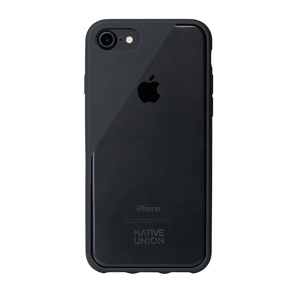 Купить Чехол-накладка Native Union CLIC Crystal Smoke для iPhone 7 | 8 | SE 2020