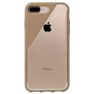 Купить Чехол Native Union CLIC Crystal Taupe для iPhone 7 Plus/8 Plus