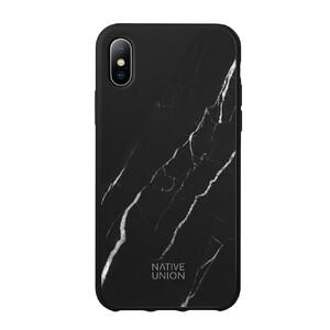 Купить Мраморный чехол Native Union CLIC Marble Black для iPhone X/XS