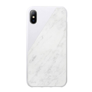Купить Мраморный чехол Native Union CLIC Marble White для iPhone X/XS