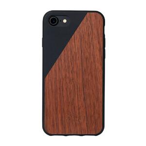 Купить Деревянный чехол Native Union CLIC Wooden Black/Walnut для iPhone 7/8