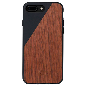 Купить Деревянный чехол Native Union CLIC Wooden Black | Walnut для iPhone 7 Plus | 8 Plus