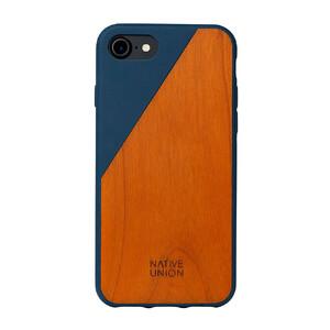 Купить Деревянный чехол Native Union CLIC Wooden Marine/Cherry для iPhone 7/8