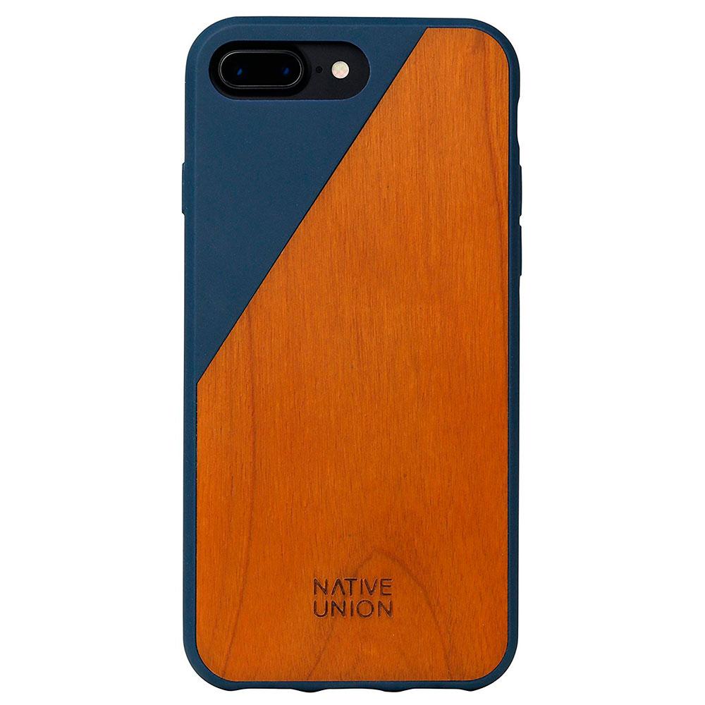 Купить Деревянный чехол Native Union CLIC Wooden Marine | Cherry для iPhone 7 Plus | 8 Plus